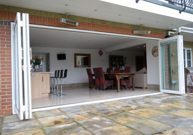 folding sliding patio doors